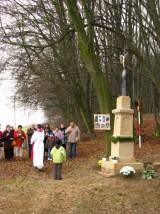34_kříž u Kopánky žehnání